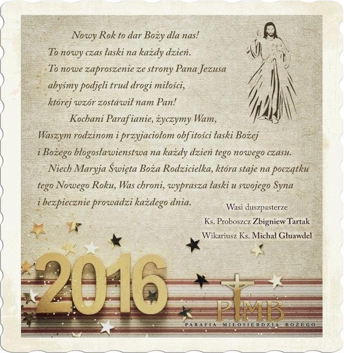 Życzenia dla Parafian